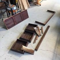 茶箪笥修理とキッチンカウンター再塗装の記事に添付されている画像