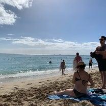 月曜日のワイキキビーチの記事に添付されている画像