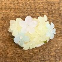 可愛いお花のブローチが出来ました〜の記事に添付されている画像