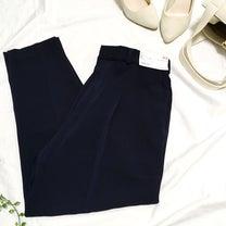 【UNIQLO購入品】入園式用にGET♡落ち感が綺麗な美ラインボトムスの記事に添付されている画像