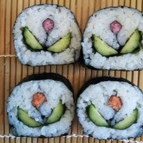 今月の  飾り巻き寿司の記事に添付されている画像