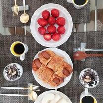 韓国旅行 4日目 朝食 カカオニブスの記事に添付されている画像