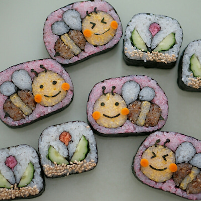 更新・募集中☆3月の飾り巻き寿司レッスンスケジュール☆の記事に添付されている画像