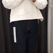 ユニクロCM着用のデニムを試着しました!の記事に添付されている画像
