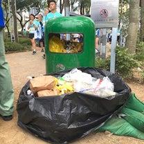 香港マラソンの時の、ゴミ箱2019の記事に添付されている画像