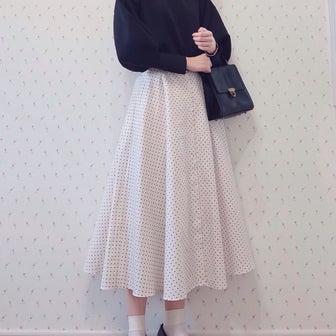 全色揃えたいくらい可愛いUNIQLOスカート