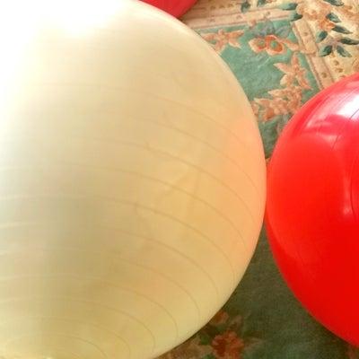 バランスボールとピラティスの記事に添付されている画像