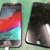 【修理事例】ガラス割れ破損も20分ほどで仕上がります!買ったばかりのiPhoneの記事に添付されている画像