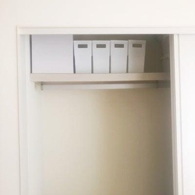 セリアのファイルボックスをクローゼットに(仮置き)の記事に添付されている画像