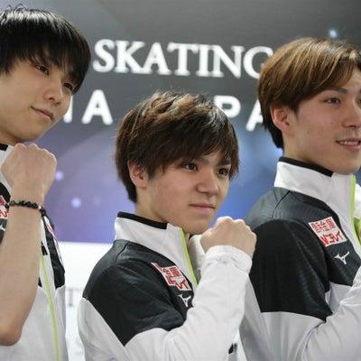 世界選手権2019日本男子会見の記事に添付されている画像