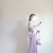 Code♡カラースカートを落ち着かせるくすみ色。の記事に添付されている画像
