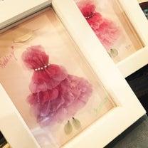 カーネーションで作るドレスの記事に添付されている画像