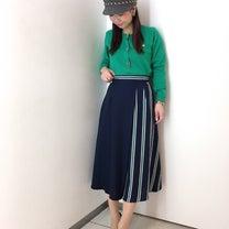 ストライプコンビラップスカート♡の記事に添付されている画像