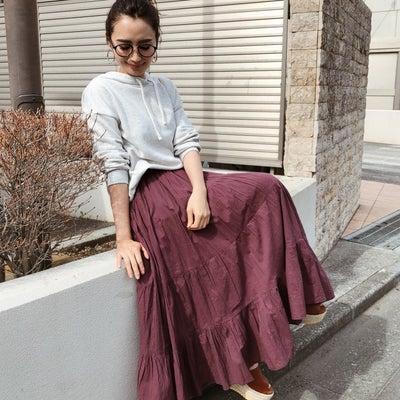 ティアードなスカート。の記事に添付されている画像