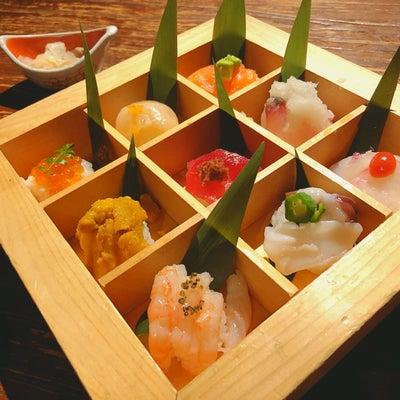 京都の手まり寿司を新宿での記事に添付されている画像