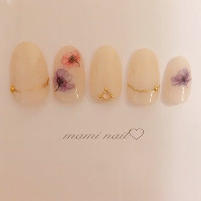 春ネイル♡の記事に添付されている画像