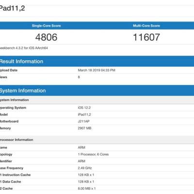 新型「iPadAir」/mini」のA12Bionicチップは「iPhone Xの記事に添付されている画像