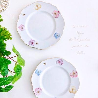 可愛い食器は特別なスイーツのため 生徒さま作品の記事に添付されている画像