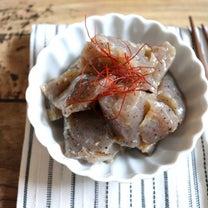 【簡単!副菜・作り置き】1枚19円!業スーこんにゃくdeほっとする味♪コンニャクの記事に添付されている画像
