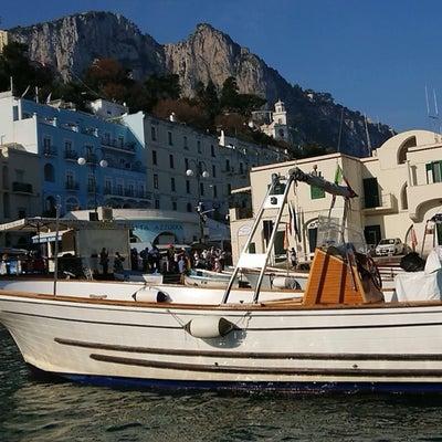 イタリアのカプリ島のお友達が、ラジオ番組に出演してくださいました❤️の記事に添付されている画像