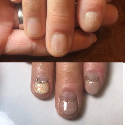 自分の爪・指先好きな人ほとんど〇〇 所沢のネイルサロンの記事に添付されている画像