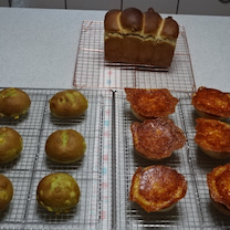 お友達とワイワイ♪「えびグラタンパン」「ポパイ&コーン」「胡桃と蜂蜜の食パン」(の記事に添付されている画像