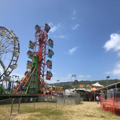 ハワイの移動式遊園地の記事に添付されている画像