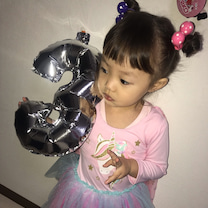 虹ちゃん 3歳お誕生日おめでとう!!!!♡♡♡の記事に添付されている画像
