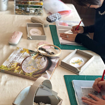 刺繍会♡の記事に添付されている画像