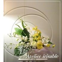 ホワイトとイエローで作るお供え花☆の記事に添付されている画像