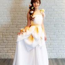 ハワイが好きな女性の皆さんの為のウェディングドレスの記事に添付されている画像
