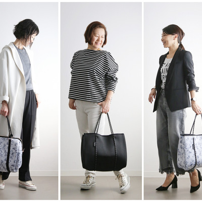 ★旅行から仕事までとにかくヘビロテ♪洗える軽量バッグ!の記事に添付されている画像