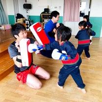 子供たちの人生に少しでもキックボクシングが関われたことに感謝の記事に添付されている画像