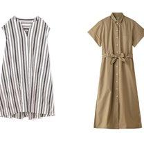 シャツドレスなど、ワンピース・ドレスのおすすめ!人気、春夏ファッションの通販の記事に添付されている画像