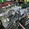 S2000 F22R エンジン始動、AE86はバルタイ測定・調整。