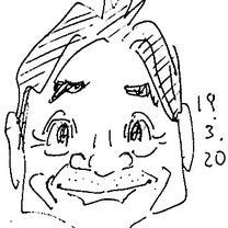 似顔絵#1856_水島裕の記事に添付されている画像