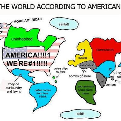 ツボにハマった世界地図の記事に添付されている画像