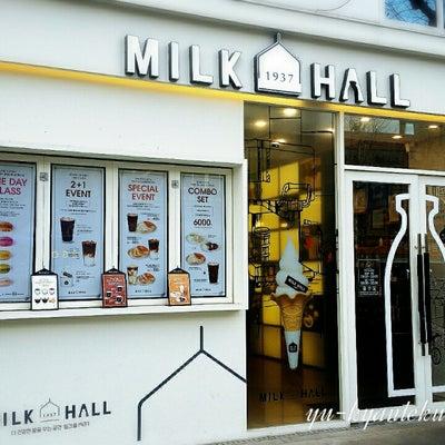 インスタ映えの鍾路にあるカフェ「MILK HALL」の味は?の記事に添付されている画像