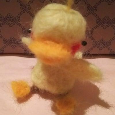 ★羊毛フェルトで まぬけな ひよこ完成★の記事に添付されている画像