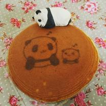 パンダのどら焼き。の記事に添付されている画像