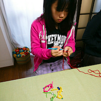 こども編み物教室。小6になる女の子♪編み物デビューです。の記事に添付されている画像