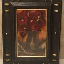 院内絵画の紹介 三岸節子作『花』の記事に添付されている画像