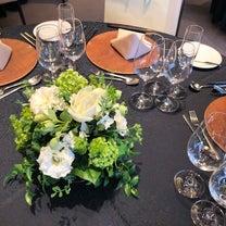先週末の会場装花の記事に添付されている画像