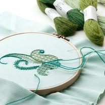 2019ディプロマ・コース★英国伝統刺繍体験会&Basic1のご案内の記事に添付されている画像