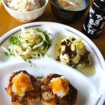 リメイクおからハンバーグの晩御飯の記事に添付されている画像