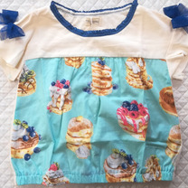 トロワラパンのパンケーキトップスとユニクロとかの記事に添付されている画像