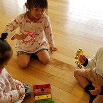 2歳さん3歳さん、リズムでいっぱい遊びました♪の記事に添付されている画像