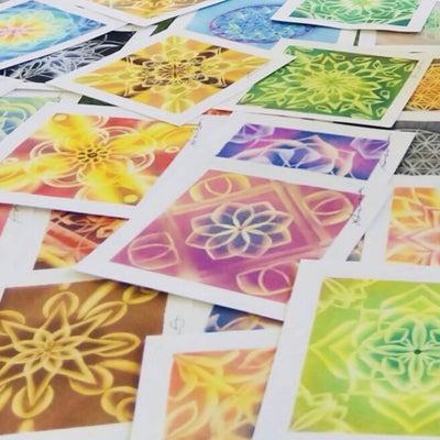 自分をアートする《曼荼羅》の記事に添付されている画像