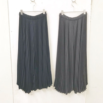 【新作 info】プリーツ ワイド パンツ ¥9900の記事に添付されている画像