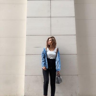 美脚効果抜群テーパードパンツ♡MINAMIの記事に添付されている画像